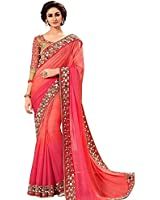 Shiroya Brothers Women Georgette New Collection Party wear,Wedding,Casual Sarees