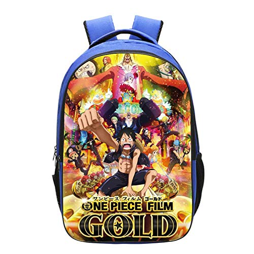 GFDSH Mochila Escolar Infantil Impresa 3D de One Piece ...