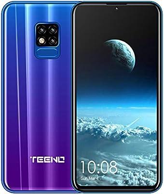 TEENO Moviles Libres 4G,6.2 Pulgadas 3GB RAM+32GB ROM Una Camara ...