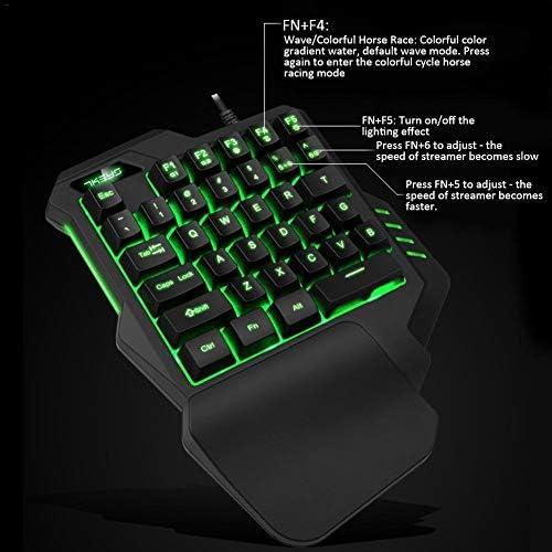 Gaming Keyboard Mouse Mini 7 Color Islandgizmo Gaming Keyboard Mouse Mini 7 Color