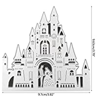 Hukai Church Wedding Metal Cutting Dies Stencil DIY Scrapbooking Album Stamp Paper Card Embossing Craft Decor,Good Gift for Your Kids to Cultivate Their Hands-on Ability