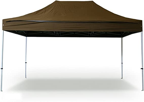 INTEROUGE - Carpa Cenador Plegable para Jardín Patio Fiesta - 3x4.5M, Tubo de Aluminio, Impermeable, Adjustable de Altura: Amazon.es: Jardín