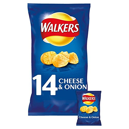 Cheese Potato (WALKERS CHEESE AND ONION CRISPS PACK OF 14 BAGS)