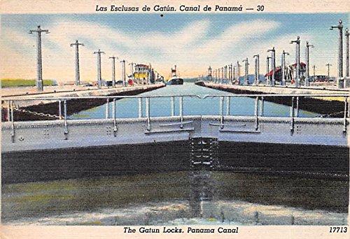 (Gatun Locks Panama Canal Panama Postcard)