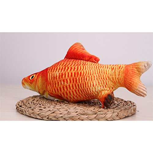 low-cost UEETEK Cat Toys Fish Cat Toys Simulation Plush Small Fish Shape Doll Interactive Pets Pillow for Cat Kitty Kitten