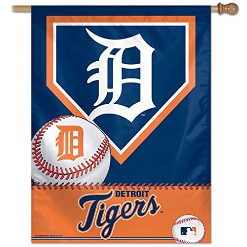 Detroit Tigers House Flag and Banner