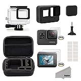 Kupton Accessories for GoPro Hero 5 Black Starter Kit Travel Case Small + ...