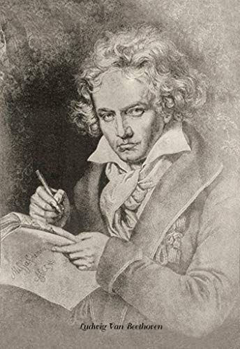 ArtParisienne Ludwig Van Beethoven Theodore Thomas 24x36-inch Wall Decal