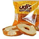 UDI's Gluten Free Plain Bagel, Individually Wrapped, 3.5 oz., (24 per case)