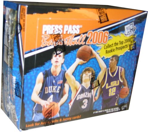 2006/07 Press Pass Basketball box (30 pk HOBBY)