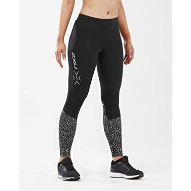 a1c8664238 2XU Women's MCS Reflect Run Thermal Compression Tight with Storage (Small)