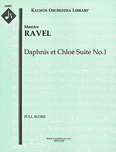 Daphnis et Chloé Suite No.1: Full Score [A6082] by E.F.Kalmus