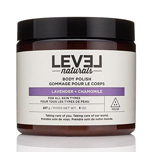 Level Naturals Body Polish Scrub 8 Oz