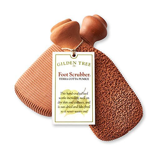 Gilden Tree 2-Sided Terra-Cotta Foot Scrubber (Set of 2) by Gilden Tree (Image #3)