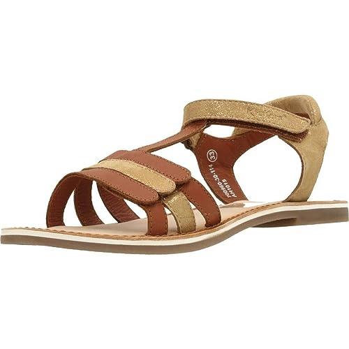 ee0cb1a1 Sandalias y Chanclas para niña, Color marrón, Marca KICKERS, Modelo  Sandalias Y Chanclas para Niña KICKERS 700960 30 Marrón: Amazon.es: Zapatos  y ...