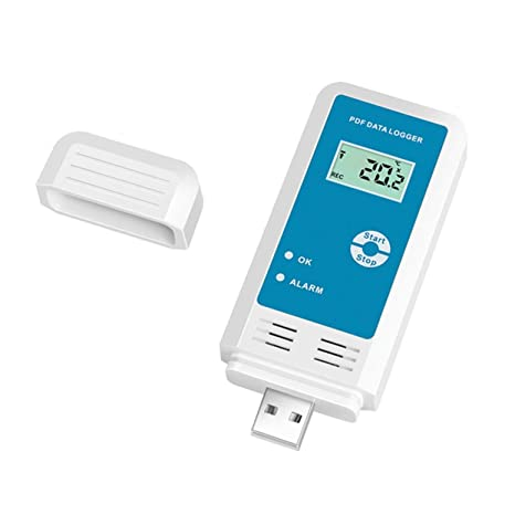 YMUP-20 - Grabadora de temperatura y humedad PDF LCD IP54, resistente al agua