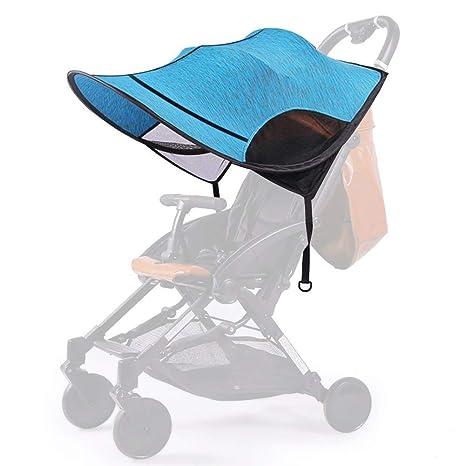 Parasol para Cochecito Bebe Universal, NUEVA VERSIÓN Sombrilla Carrito Bebe, Protección UV para Sillas de Paseo