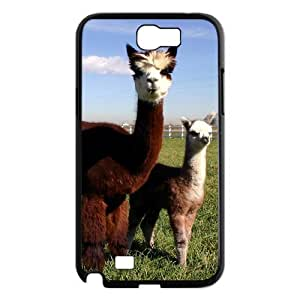 HXYHTY Diy Phone Case Lama Pacos Pattern Hard Case For Samsung Galaxy Note 2 N7100