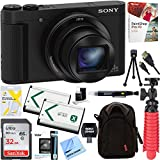 Sony Cyber-shot HX80 Compact Digital Camera with 30x Optical Zoom (Black) + 32GB