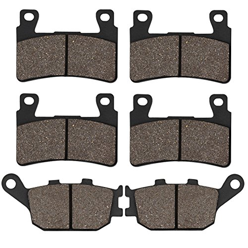 Honda Rear Cbr954rr (Cyleto Front and Rear Brake Pads for Honda CBR929RR CBR 929RR 2000 2001 / CBR 954RR CBR954RR CBR 954 RR 2002 2003)