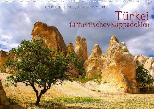 Türkei - fantastisches Kappadokien (Wandkalender 2014 DIN A2 quer): Weltkulturerbe - Göreme in Kappadokien mit seinen vielen Vulkankegeln (Monatskalender, 14 Seiten)