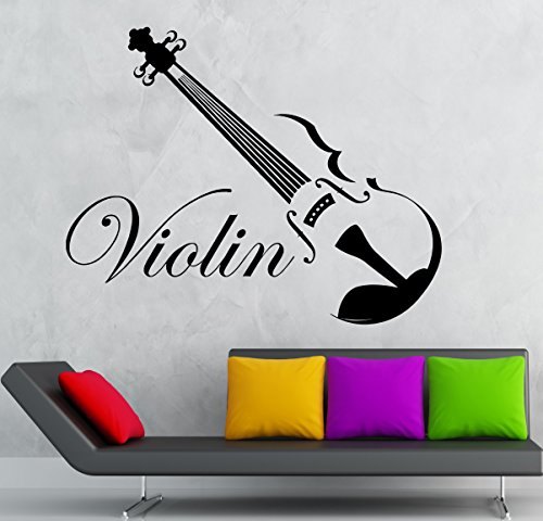 wall-sticker-vinyl-decal-classical-music-violin-musical-instrument-ig2247