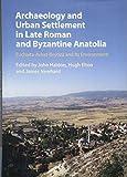 Archaeology and Urban Settlement in Late Roman and Byzantine Anatolia: Euchaïta-Avkat-Beyözü and its Environment