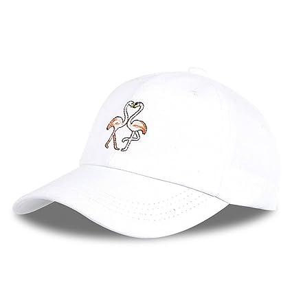 Zhou Yunshan Hombres y Mujeres de Dibujos Animados Bordados Gorra de béisbol de algodón Gorra de