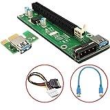 20 Pack PCI-E riser PCI Riser USB 3.0 riser for GPU mining Altcoin peercoin litecoin ethereum Dash coin Monero Xmr Neucoin Colorcoin altcoin mining