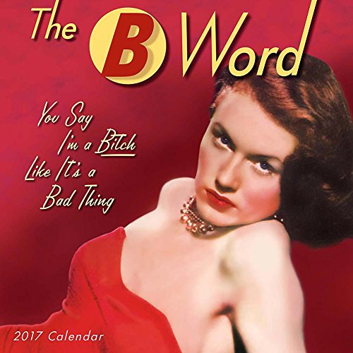 The B Word 2017 Mini/Small Wall Calendar