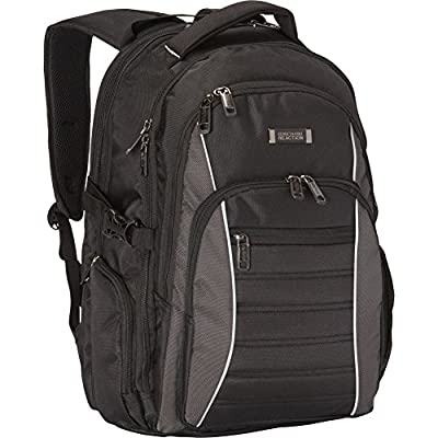 Kenneth Cole Reaction No Looking Back Top Zip Computer Ipad Tablet Backpack