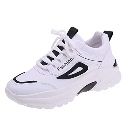 c410190608d5d Amazon.com: YXB Women's Sports Shoes New Spring Sneakers Fashion ...