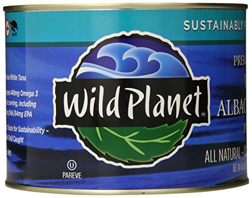 Wild Planet Albacore Tuna (Wild Planet Bulk Wild Albacore Tuna in Water, 66.5 Ounce)