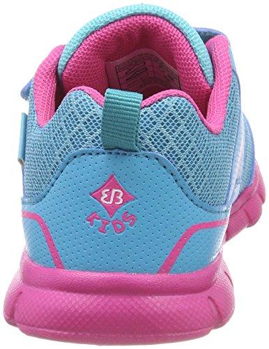 Bruetting Baby Mädchen Magico V Sneaker Türkis (Tuerkis/Pink)