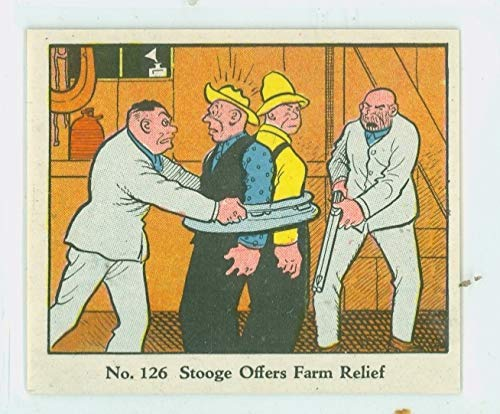 1937 Dick Tracy R-41#126 Farm Relief Near-Mint Plus (7 1/2 out of 10) by Mickeys Cards