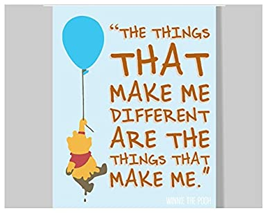 Growth Mindset Quotes | Amazon Com Winnie The Pooh Quote Poster 16 X 20 Motivational
