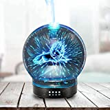 Polennon Leo 3D Aromatherapy Diffuser Essential Oil Ultrasonic Cool Mist Humidifier & Night Lights Review