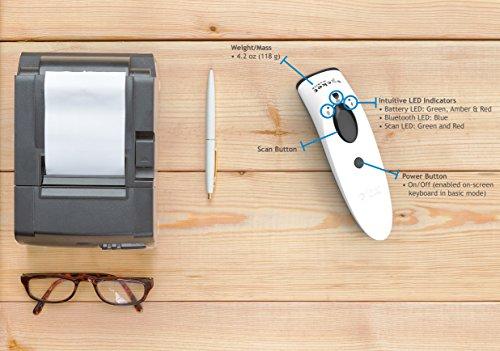 SocketScan S700, 1D Imager Barcode Scanner, White by SOCKET (Image #5)