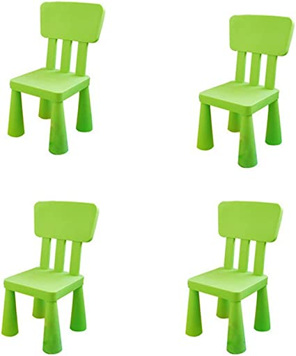 Come Pulire Le Sedie Di Plastica Da Giardino.Sshhm Sedia Multifunzionale Per Bambini Di Plastica Con Schienale