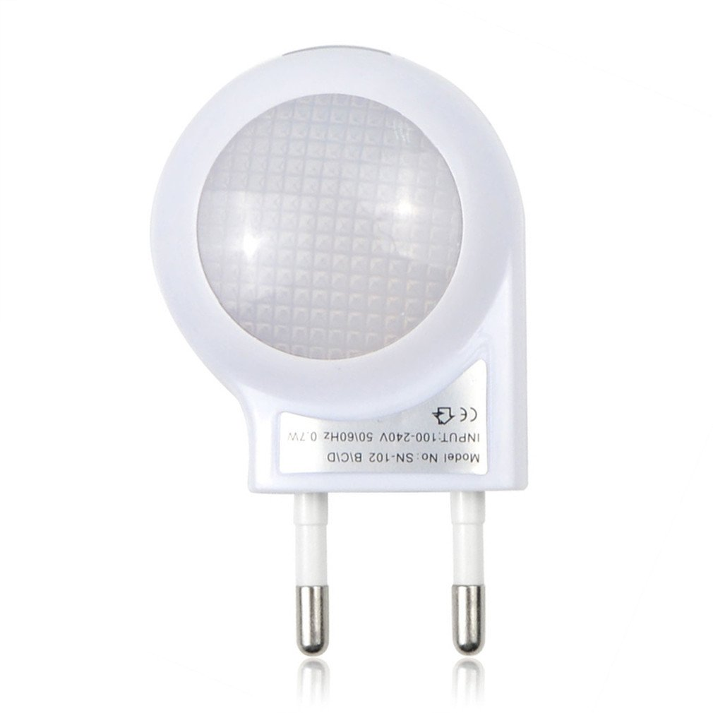 Reading Light Control 110-220V LED Auto Sensor Mini For Baby Bedroon Decoration Yellow body