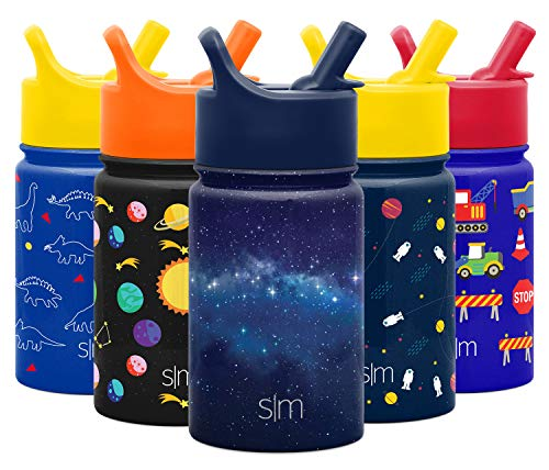 Simple Modern Summit Straw Kids, 10 Ounce, Milky Way