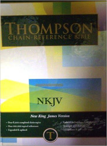 Thompson Chain Reference Bible-NKJV: Frank Charles Thompson