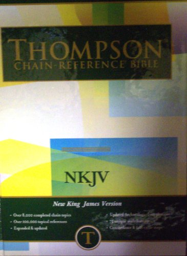 Thompson Chain Reference Bible (Style 313) - Regular Size NKJV - Hardcover