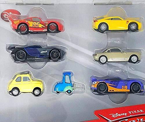 Disney PIXAR Cars 3 Vehicle 7 Piece Playset
