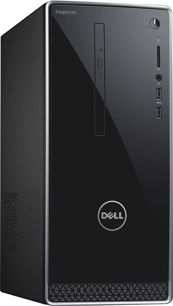 Dell Inspiron High Performance Desktop Tower (Intel Quad Core i5-6400 2.70 GHz, 8GB RAM, 1TB 7200RPM HDD, NVIDIA GeForce 730 2GB GDDR3, DVD, Wifi, Bluetooth, HDMI, VGA, Windows10)