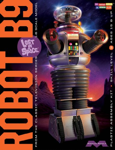 Robot Model Kits - Moebius Models 939 LIS Robot