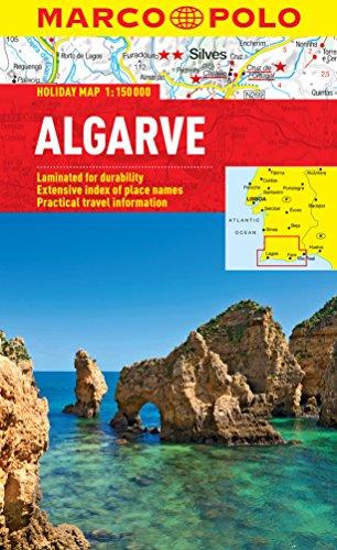 Algarve Marco Polo Map 1:150,000 (Marco Polo Holiday Maps)
