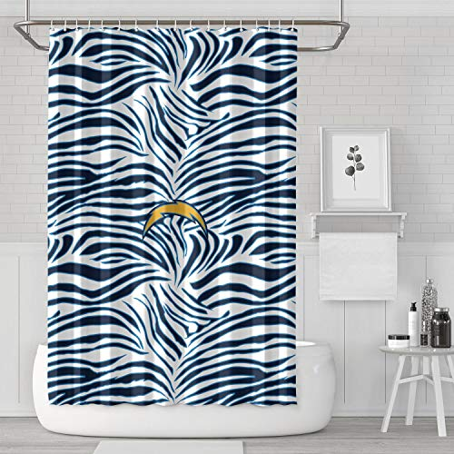 - MIWQU Anti-Bacterial Silicone Material Bedroom Home Bathroom Curtain Gradient Pattern 72 Inch