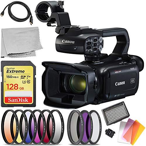 (Canon XA40 Professional UHD 4K Camcorder (#3666C002) Starter Bundle )