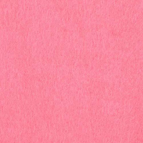Bubble Gum Pink Solid Fleece Fabric - 60